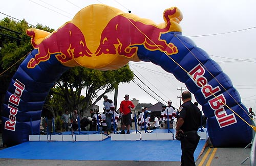how to get red bull to sponsor an event
